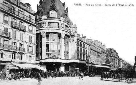 Cpa Paris Rue Saint Martin Caf Ef Bf Bd Saint Laurent
