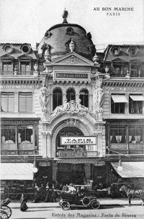 Le bon march paris en 1900 - Sofitel paris porte de sevres ...