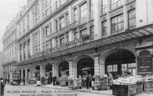 Le Bon March 233 224 Paris En 1900