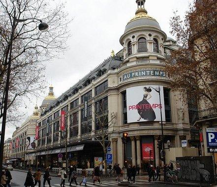 Les magasins du printemps paris - Meubles printemps haussmann ...