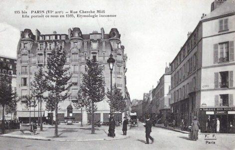 Le boulevard raspail en 1900 for Hotel pas cher paris 14e