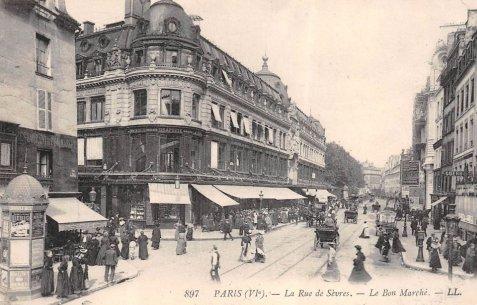 La Rue De S 232 Vres 224 Paris