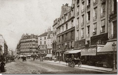 La rue de s vres paris en 1900 - Hopital laennec rue de sevres ...