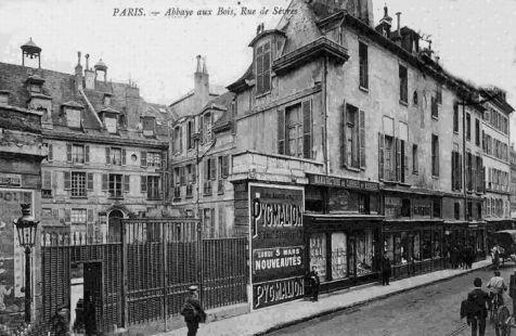 La rue de s vres paris en 1900 - Hopital laennec paris 7 ...