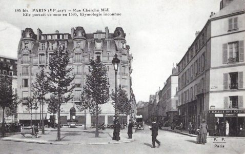 La rue du cherche midi en 1900 - La cantine du troquet cherche midi ...