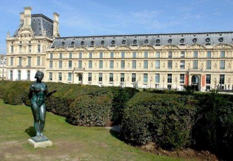 Le jardin du carrousel et les statues de maillol - Les jardins du louvre ...