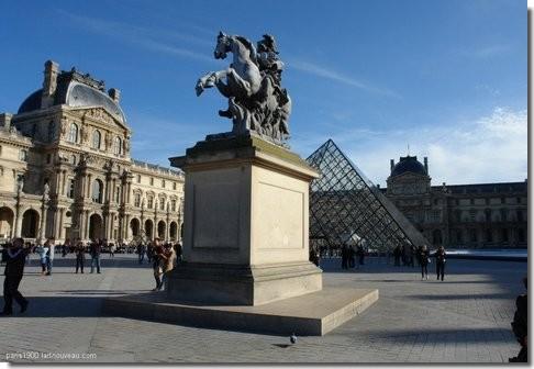 Le palais du louvre - Comptoir des tuileries cours de l or ...