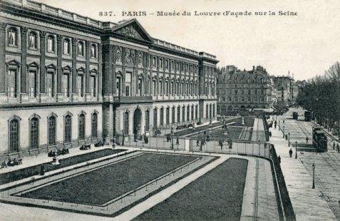 Les jardins du louvre en 1900 for Au jardin de l infante