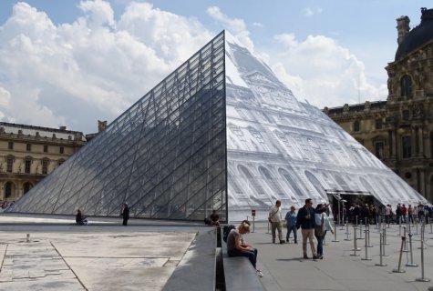 La pyramide du louvre - Inauguration pyramide du louvre ...