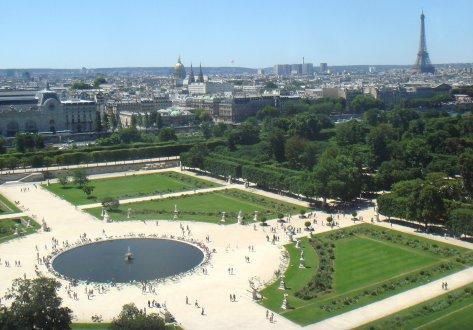 Le jardin des tuileries for Jardins tuileries paris france