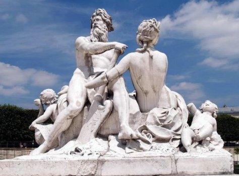 Le jardin des tuileries statues en pierre - Statues jardin des tuileries ...
