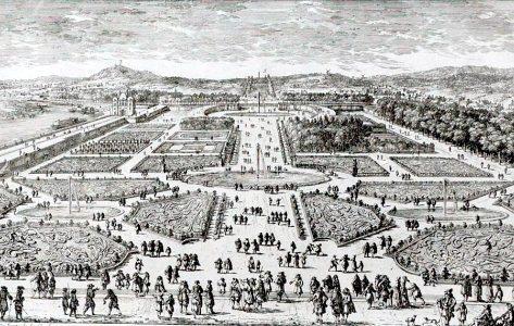 Le jardin des tuileries for Au jardin du port le palais