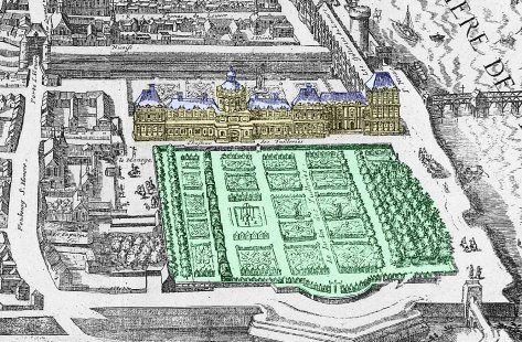 Plans Du Jardin Des Tuileries
