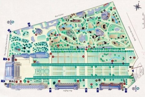 Le jardin des plantes paris for Application plan jardin