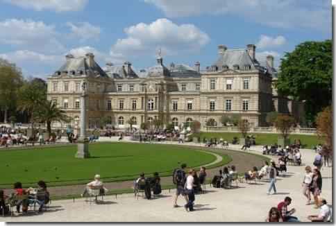 Le jardin du luxembourg ballade photos dans le jardin actuel for Jardin luxembourg