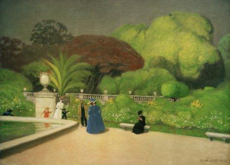 Tableaux sur le jardin du luxembourg for Art du jardin zbinden sa