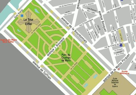 plan of champ de mars paris 1889 Champ de mars park in paris take a stroll, have a picnic or simply soak up the spectacular scenery and relax under the shadow the eiffel tower at champ de mars, one of the most beautiful green spaces paris has to offer.