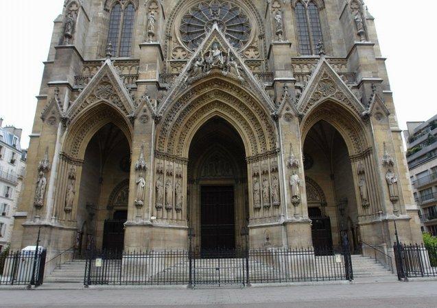 La Basilique Sainte Clotilde  U00e0 Paris