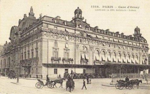 devenue le musée d'Orsay