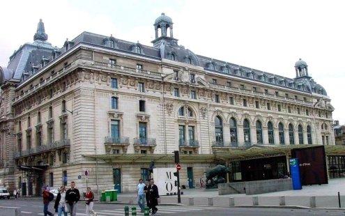 La gare d 39 orsay devenue le mus e d 39 orsay for Exterieur quai