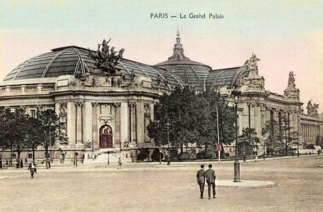 Le grand palais paris en 1900 - Exposition paris grand palais ...