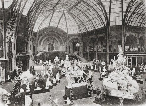 Le grand palais paris en 1900 - Grand palais expo horaires ...