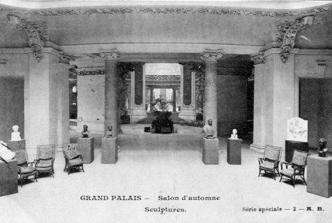 Int rieur du grand palais en 1900 for Salon d honneur grand palais
