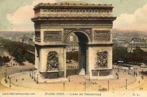 Paris 8e cartes postales des ann es 1900 for Garage de l etoile la maxe