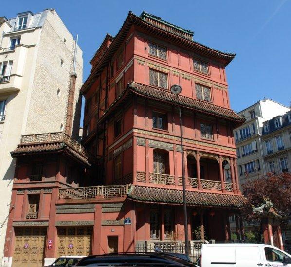 La maison loo pagode paris - La maison paris 17 ...