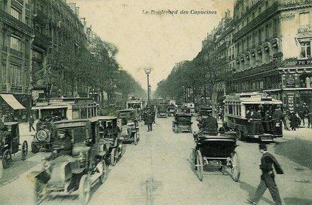 Le Boulevard Des Capucines En 1900