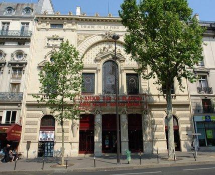 Le th tre de la porte saint martin - Theatre porte saint martin ...
