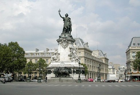 Hotel place de republique paris