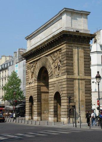 La porte saint martin paris for Porte saint martin