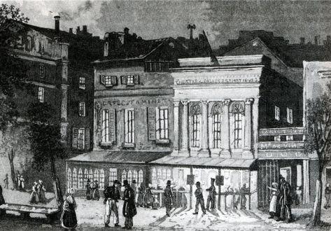 Le boulevard du Temple en 1900 First Photograph 1830