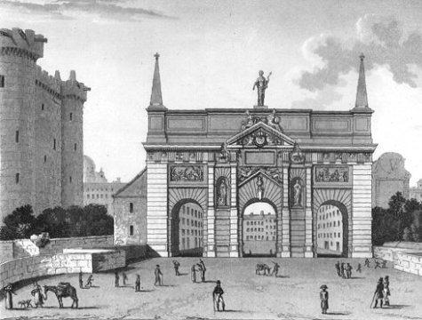 La porte saint antoine for Porte saint antoine