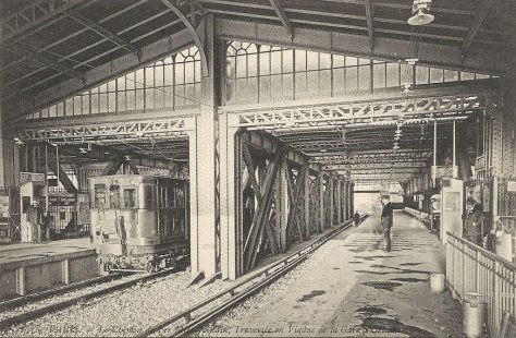 la gare d 39 austerlitz en 1900. Black Bedroom Furniture Sets. Home Design Ideas