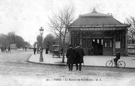Le boulevard du montparnasse en 1900 - Boulevard du port royal paris ...