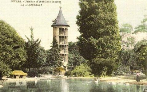 Le jardin d 39 acclimation dans les ann es 1900 - Jardin d acclimatation bois de boulogne ...