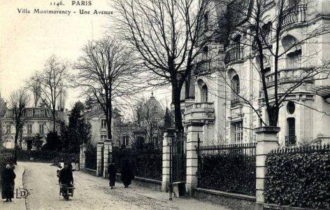 Villa Montmorency Visite