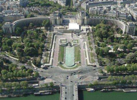 Le palais de chaillot for Jardin 16eme