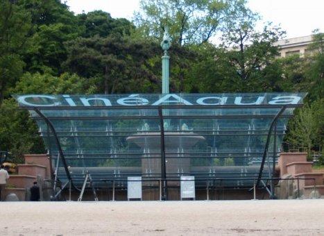 Le jardin nord du trocad ro for Aquarium de paris jardin du trocadero