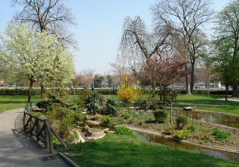 Le jardin sud du trocad ro for Jardin trocadero