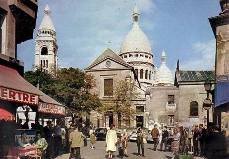 L 39 glise st pierre de montmartre - Place saint pierre paris ...