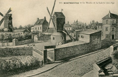Le moulin de la galette - Moulin de la borderie ...
