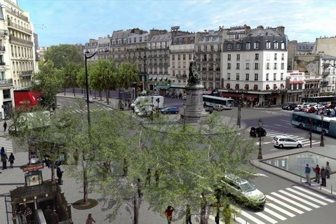 La place de clichy for Place de clichy castorama
