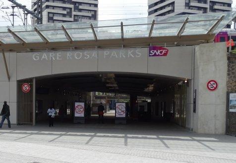 La gare rosa parks - Paris rosa parks ...