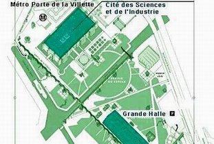 Le parc de la villette - Porte de la villette cite des sciences ...