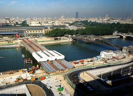 how to get from quai de bercy to cdg