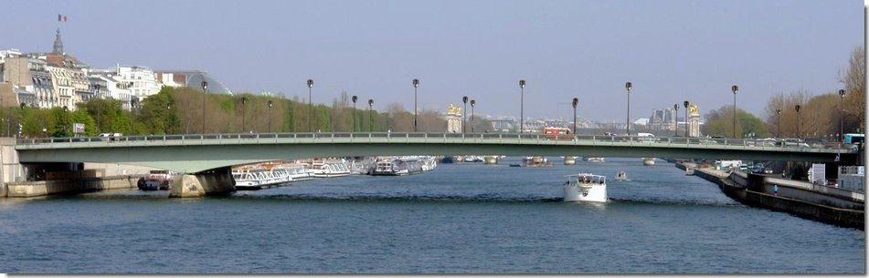 Le Pont De L Alma